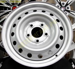 Диск стальной Red Wheel (RS003) R15*6.0 5*114,3 ET +40 ЦО 72мм Silver