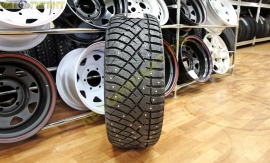 215/50R17 (Therma Spike) а/шина Nitto зима 91T шип